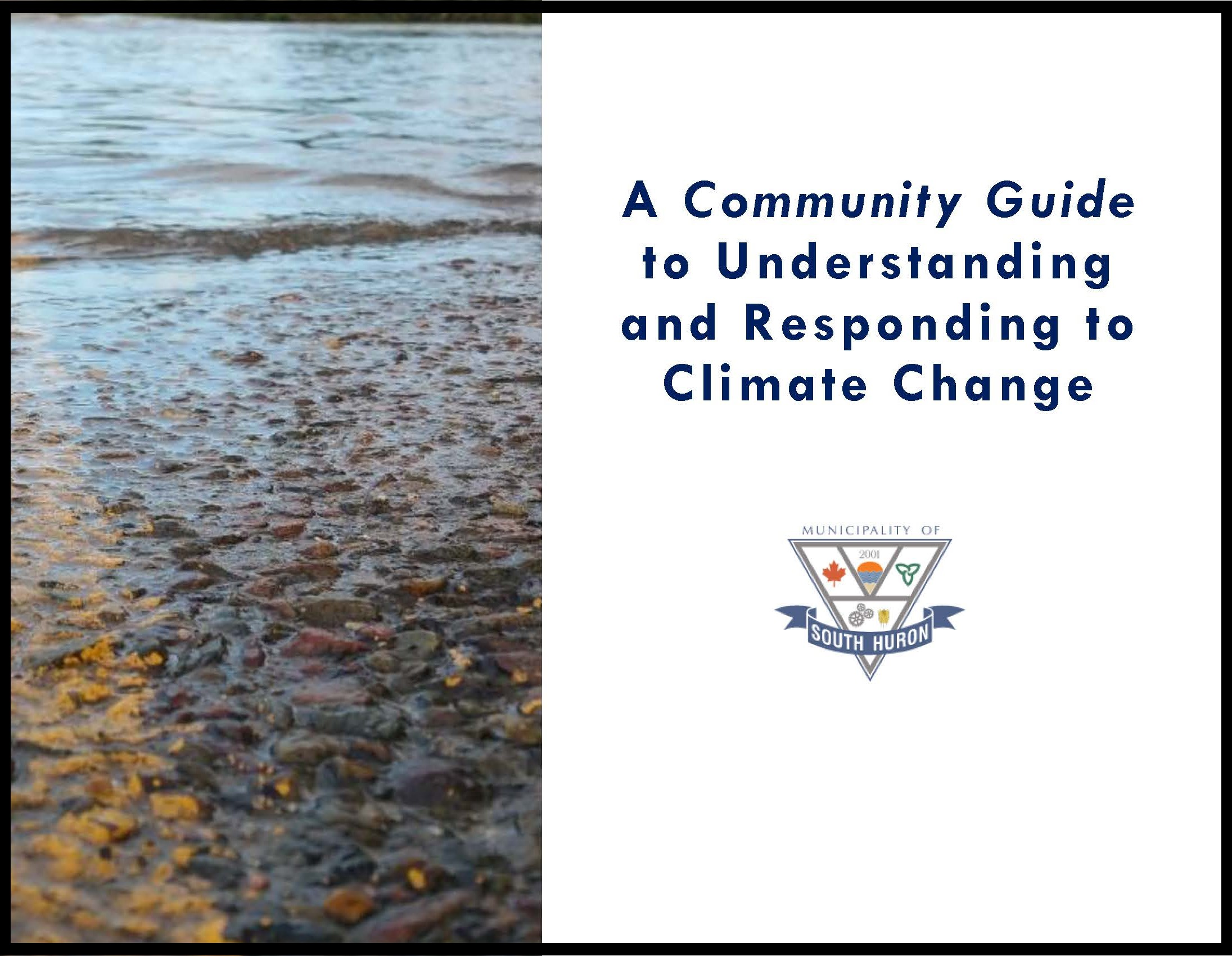 Cover of Community Guide to Understanding Climate Change and How to Respond document